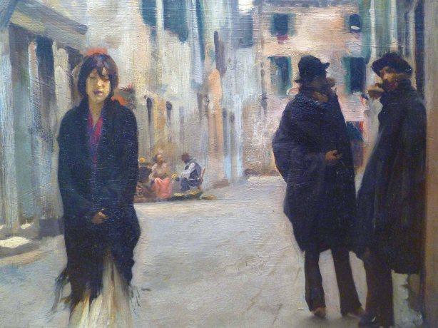 Street in Venice (detail) – John Singer Sargent