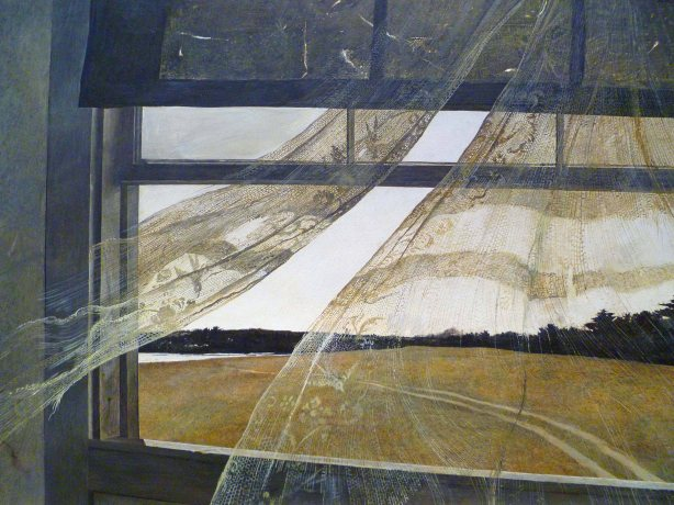 Wind from the Sea (detail) – Andrew Wyeth