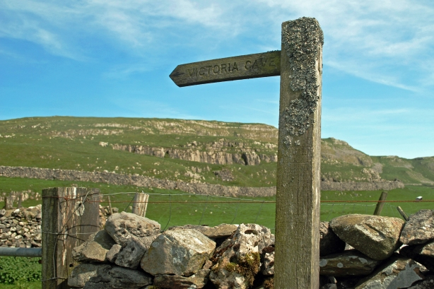 The signpost up ahead...